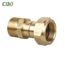 CIBO automobiles car washer Gun Hose Swivel Joint Kink m22 Brass Fitting Anti-Twist for Pressure Washer accessorie