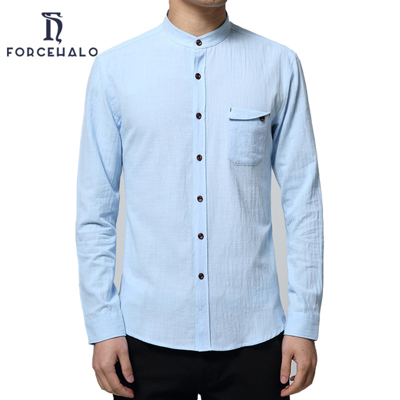 Mandarin Shirt Mens