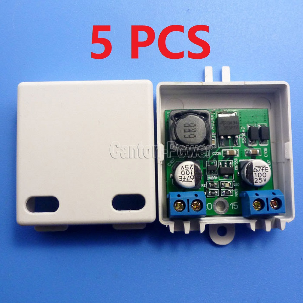 CE015 * 5 5 PZ Ad Alta Potenza 3.3 V 4.2 V 5 V 6 V a 12 V DC DC Boost Converter per PLC LED Monitor CCTV Smart Home/Home AutomationCE015 * 5 5 PZ Ad Alta Potenza 3.3 V 4.2 V 5 V 6 V a 12 V DC DC Boost Converter per PLC LED Monitor CCTV Smart Home/Home Automation