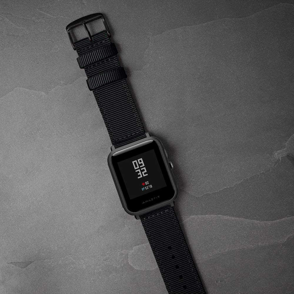 Eastar החלפת שעון רצועת לxiaomi huami Amazfit חכם שעון נוער מהדורת ביפ קצת קצב לייט להקת רצועת כושר צמיד