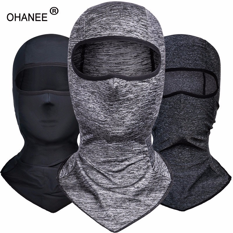 Ice Silk Sunscreen Mask Head Cover Full Face Protection For Men And Women Motorcycle Ride Fishing Anti-UV Breathable Windproof