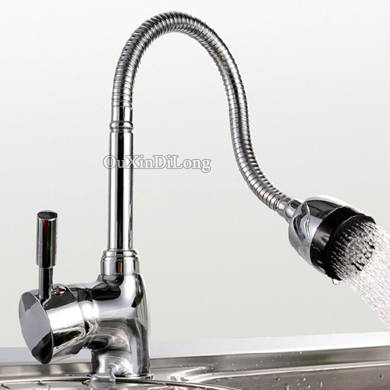 Brand New Kitchen Sink Torneira Cozinha Hot And Cold Mixer All Around Rotate Swivel 2 Function