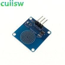 1 шт. TTP223 TTP223B Jog цифровой сенсорный датчик емкостный сенсорный переключатель модули аксессуары для Arduino 2-5,5 в источник питания