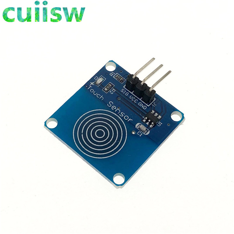 1pcs ttp223 ttp223b jog digital touch sensor capacitive touch touch1pcs ttp223 ttp223b jog digital touch sensor capacitive touch touch switch modules accessories for arduino 2 5 5v power supply in sensors from electronic