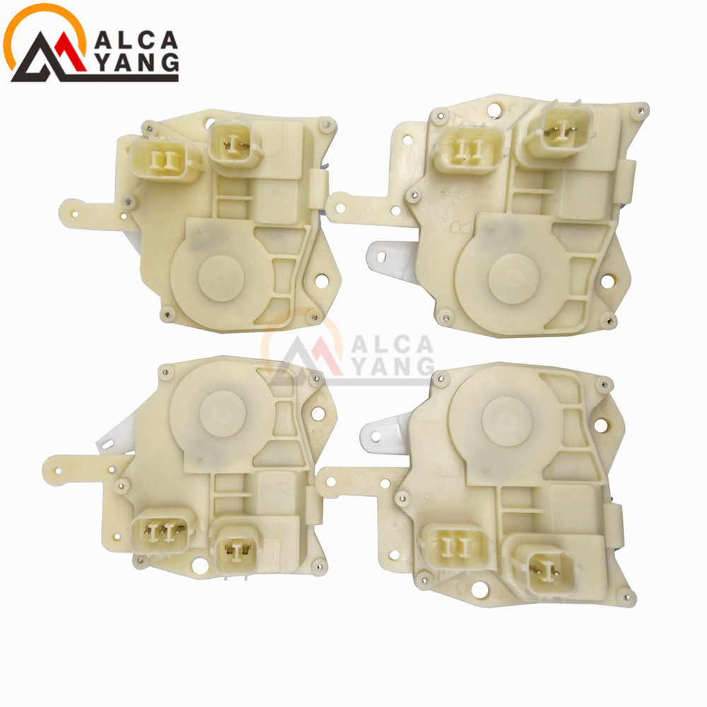 Set(4) Door Lock Actuator Front /Rear/Right/Left Side for <font><b>Honda</b></font> Civic <font><b>Accord</b></font> Odyssey S2000 Insight CRV Acura image