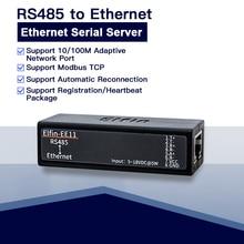 Последовательный порт RS485 к серверному модулю устройства Ethernet Поддержка Elfin-EE11 TCP/IP Telnet Modbus TCP протокол