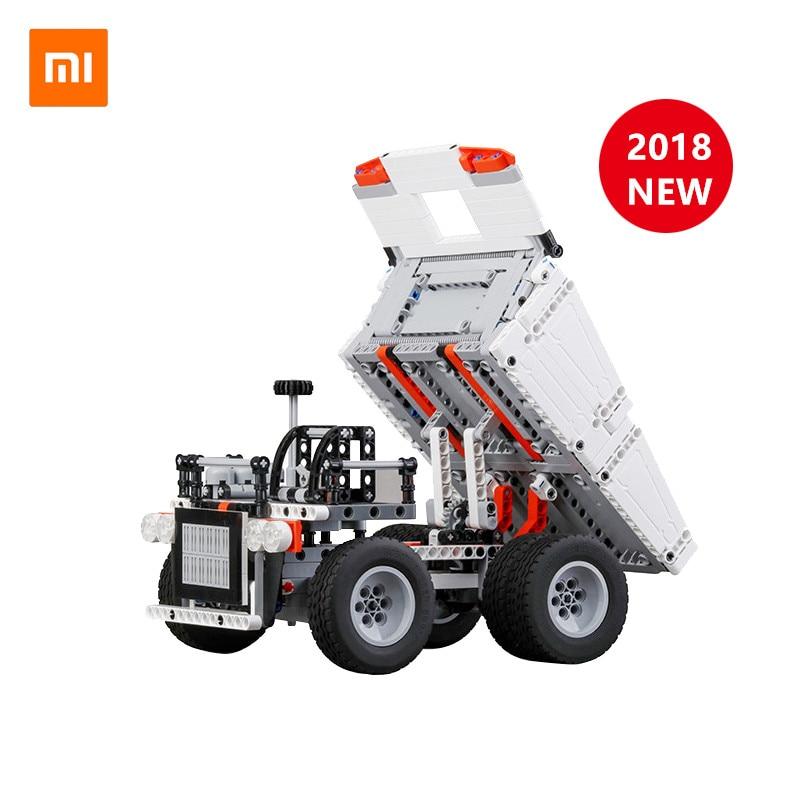 Оригинальный XiaoMi Mijia Mitu грузовик Mi строительные блоки палец вертушка подарок для детей Безопасность Портативный строитель Смарт мини игрушки|Смарт-гаджеты|   | АлиЭкспресс