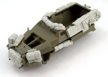 1:35 модельная фигурка из смолы разобранный неокрашенный комплект // B146 (без автомобиля)