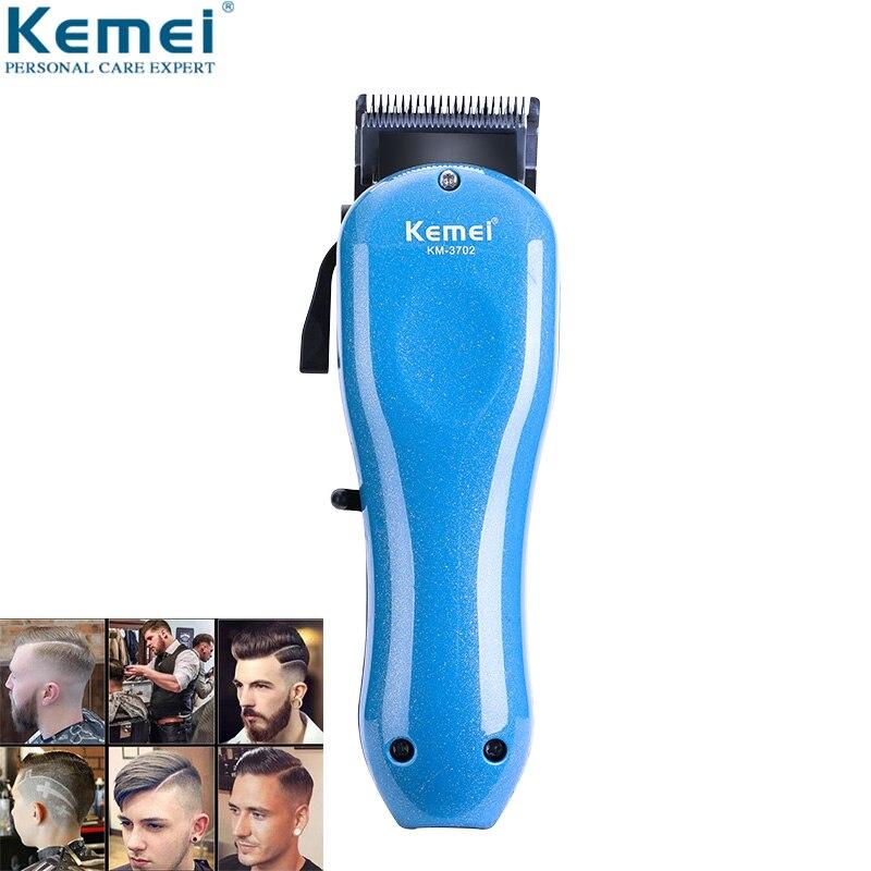 Professionnel 100-240 V cheveux Clipper Rechargeable tondeuse cheveux rasage Machine cheveux coupe barbe électrique rasoir pour homme