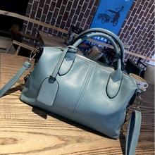Christmas 2017 New Brand Women Shoulder Bag fashion Brand Designer Top handle Cowhide handbags Skin Crossbody