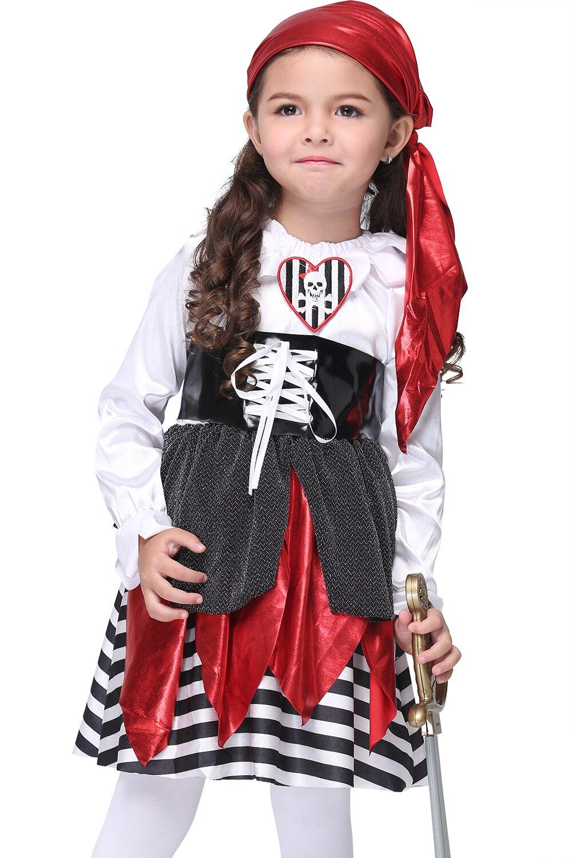 EK104 Европа и Соединенные Штаты Хэллоуин Дети показывают Костюмы Косплэй аниме Костюмы море вор костюм детская одежда костюмы