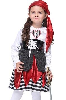 EK104 Europa y Estados Unidos ropa de Halloween para niños Cosplay Anime ropa Sea Thief suit trajes para niños
