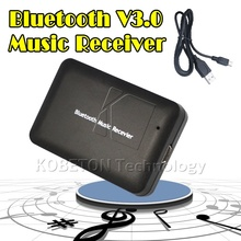 Hotest USB Wireless Bluetooth 3.0 Audio Music Receiver Adapter to Speaker Sound BOX for HTC SONY LG Bluetooth Device