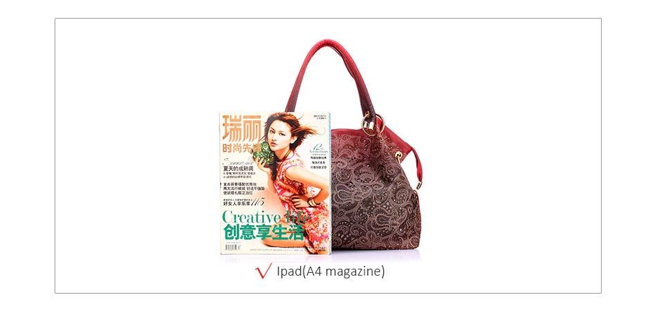 women handbags hollow out ombre floral print shoulder