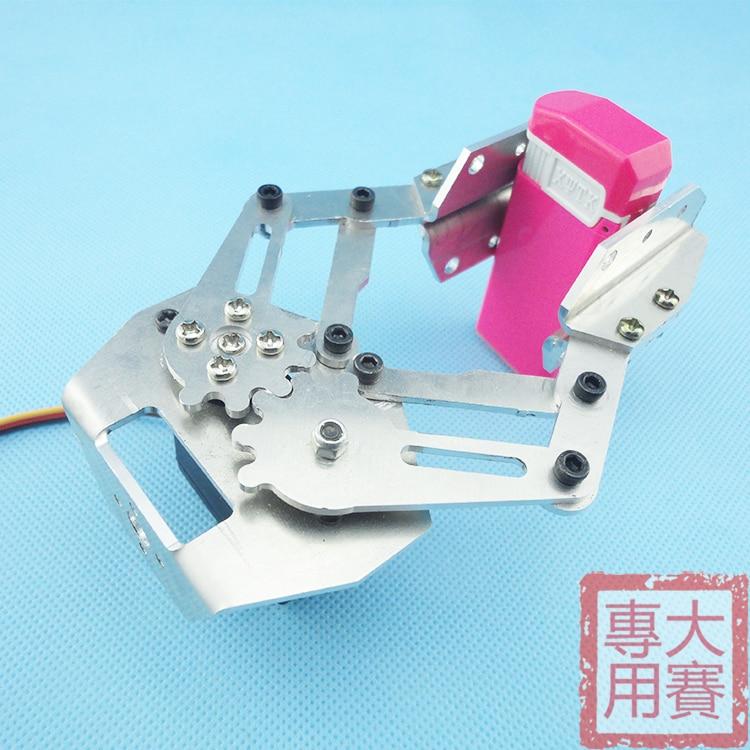Metal robot manipulator arm with MG995 servos SK4