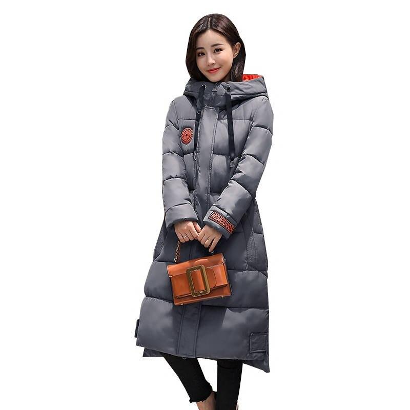 Waterproof Winter Jacket Women Hooded Military Jackets   Parka   Femme Down Cotton Coat Thick Long Winter Jacket Plus Size 5XL C3722