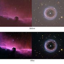 """UHC фильтр 1,2"""" телескоп фильтр для астрономии телескоп с одним окуляром Улучшает контрастность изображения уменьшает светильник загрязнения"""