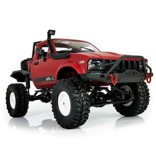 Newest WPL C14 1:16 2ch 4wd RC Truck 2.4G Off-Road Truck Electric RC Car 15km/H Top Speed RTR/KIT Mini Racing Car Toys