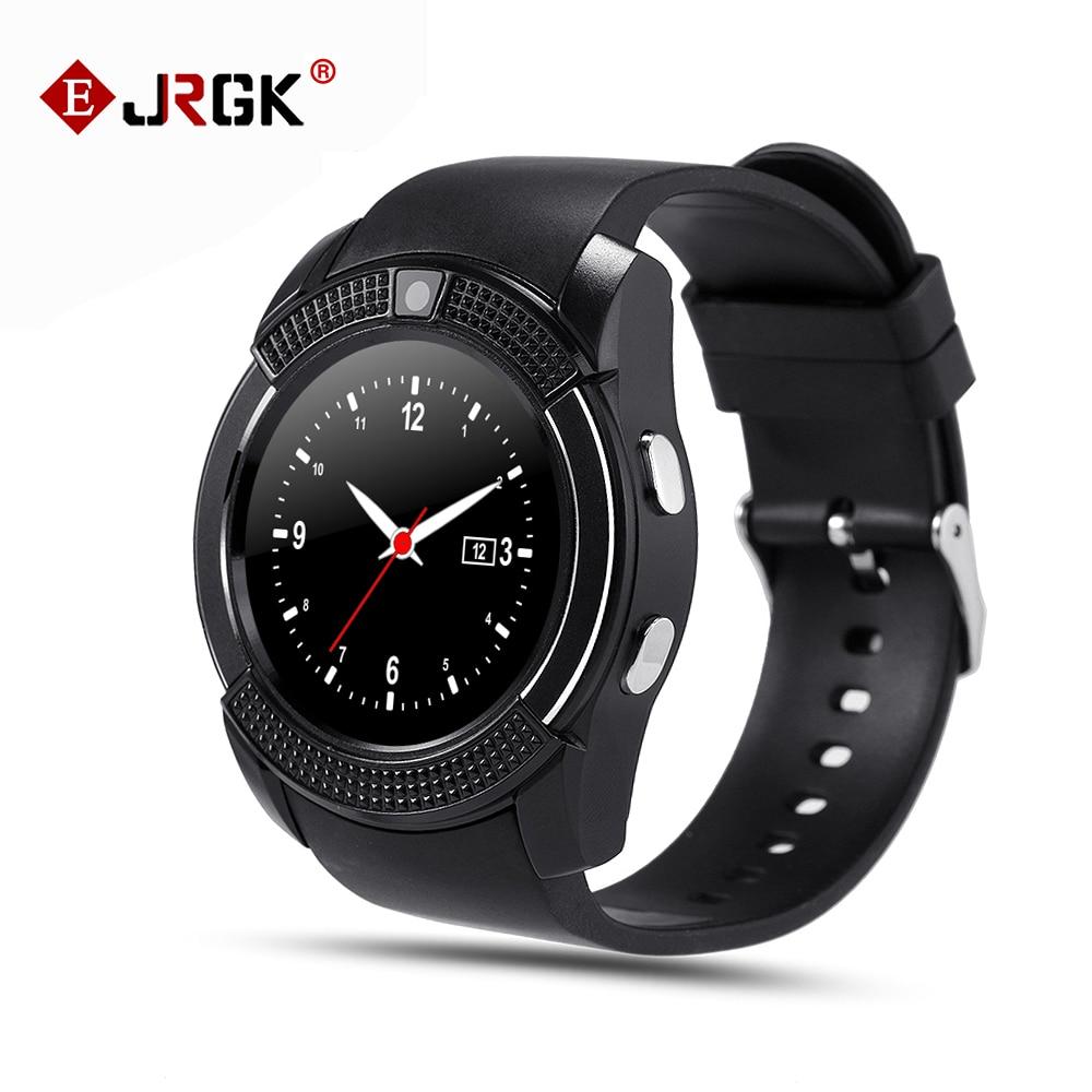 V8 Smart Watch Wristwatch Support Sim TF Card Slot Bluetooth Sport Clock with 0 3M Camera
