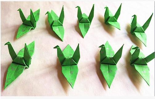 A9 Pure Handmade Paper Birds 75cm Origami Finished Wedding Venue