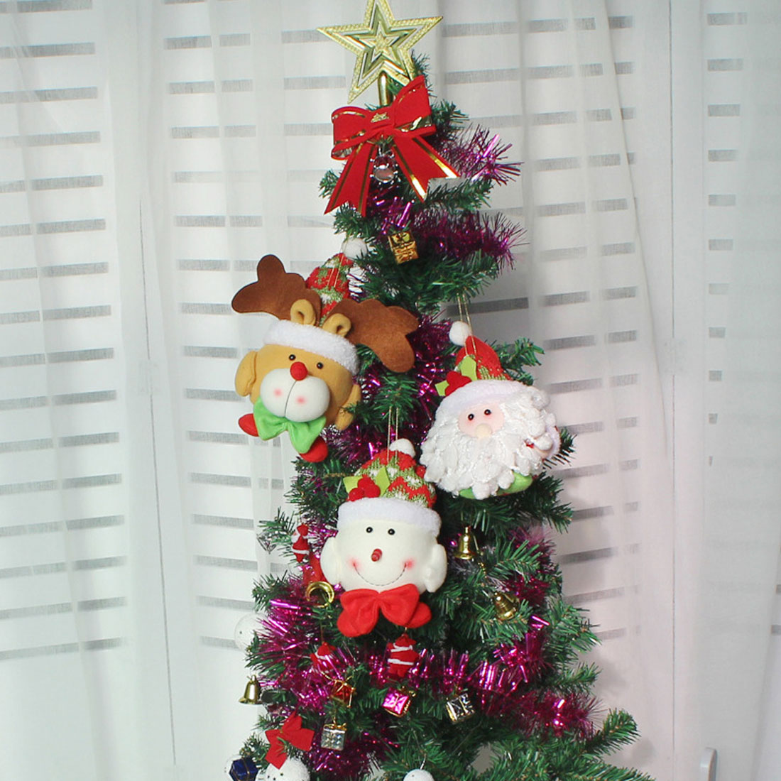 Cool Snowman Decoration Ornaments For Christmas Tree: Aliexpress.com : Buy 2018 Merry Christmas Tree Hanging