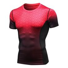 Shapers Men Summer Casual Quick-drying Short Sleeve Tops Slimming Body Shaper Waist Girdle Tee Shirt Fashion Slim