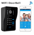 New Wifi video doorbell Wireless Intercom Support IOS Android for iPad Smart Phone Tablet Russia RFID Keyfobs