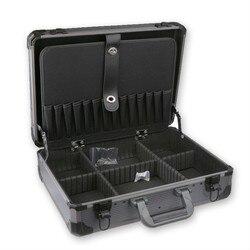 Aluminium Werkzeug koffer toolbox Für Große Kleine Tool Kit Kollision vermeidung beständig sicherheit box Mit sperren Storage Box