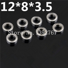 8Pcs Lot HSP Parts 86683 12 8 3 5 Ball Bearings Upgrade Steel Parts for 1