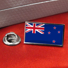 High quality and low price New Zealand Flag metal Lapel Pin Badge/Tie Pin custom made metal craft country flag lapel pin FH68004 5pcs kyrgyzstan country flag badge pin brooch friendship metal craft custom soft enamel lapel pin