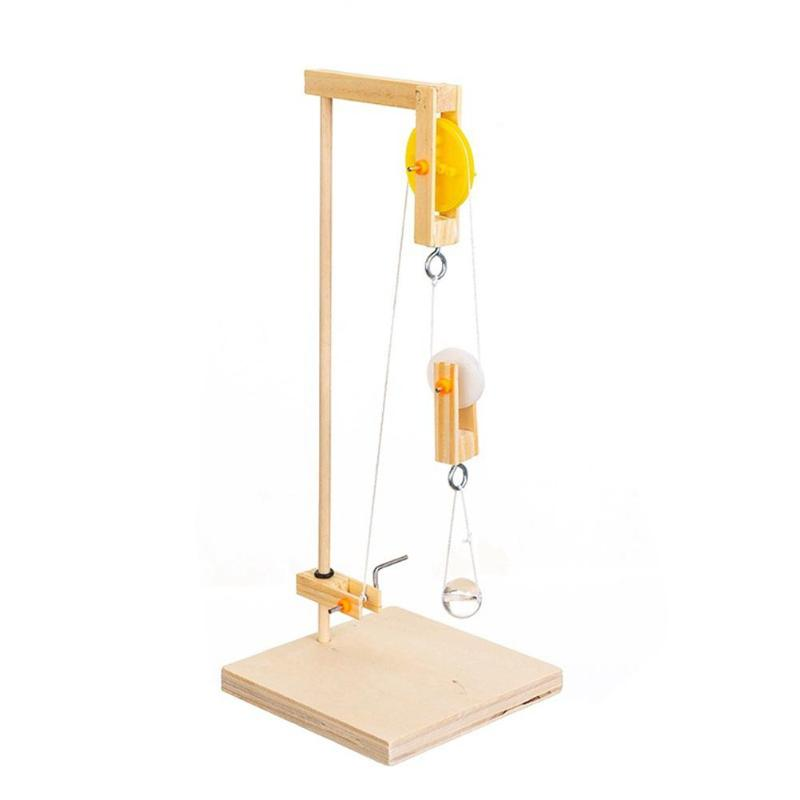 Дети DIY Наука модель для эксперимента строительные наборы ручной кран креативная Игрушка Дети Развивающие Игрушки для раннего обучения для...