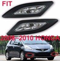 LED, 2008 ~ 2010 Fit дневного света, джаз, стайлинга автомобилей, делсол, Fit фар, автомобильные аксессуары, Fit туман свет, мотоцикл