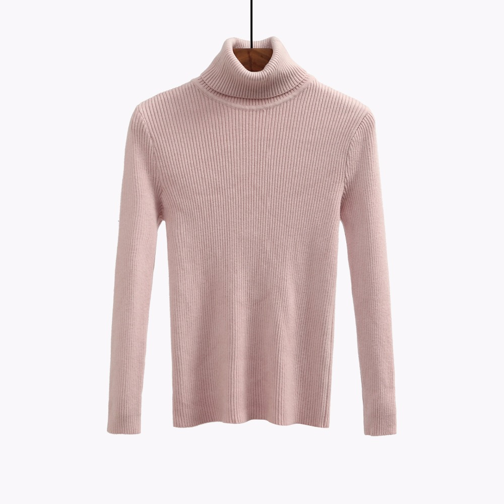 Cashmere wine rusty khaki green brown Female Sweater Turtleneck Red Color 2018 High Quality Autumn Sale Solid Pullover Women gray Winter Black Hot white ZwHHqABxI
