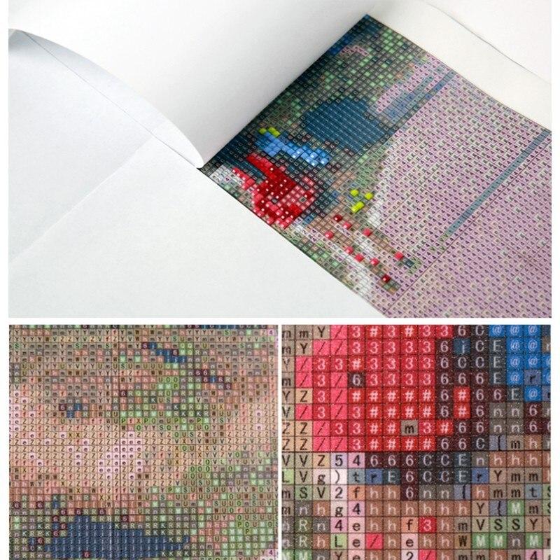 5D DIY full Square drill Diamond drawing Cross stitch Lynx Rhinestone embroidery Mosaic Home decoration in Diamond Painting Cross Stitch from Home Garden