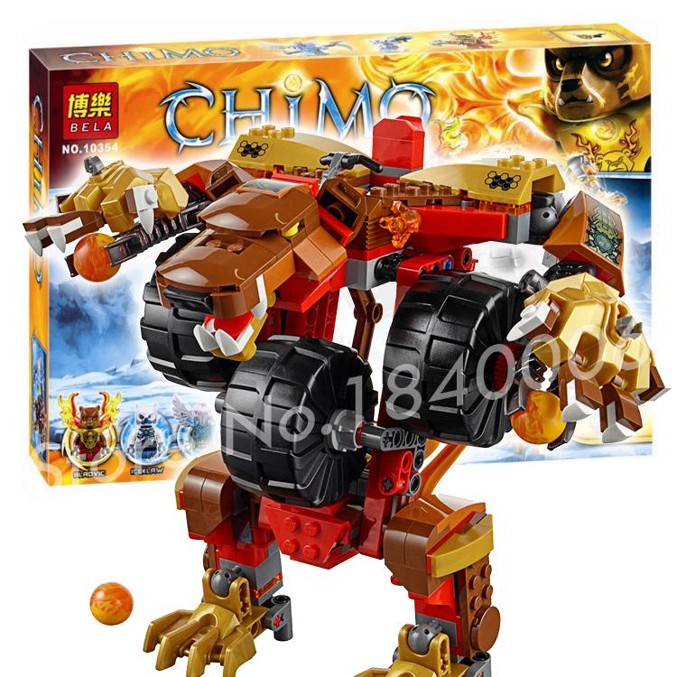 415pcs Bela New chimo 10354 Bladvic's Rumble Bear Mannequin Constructing Christmas Toys Present Minifigures Suitable With Lego