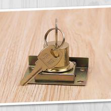Замки для ящиков с 2 ключами, мебельная фурнитура, замок двери шкафа для офисного стола, буквенная коробка, Кулачковые замки 16 мм/22 мм