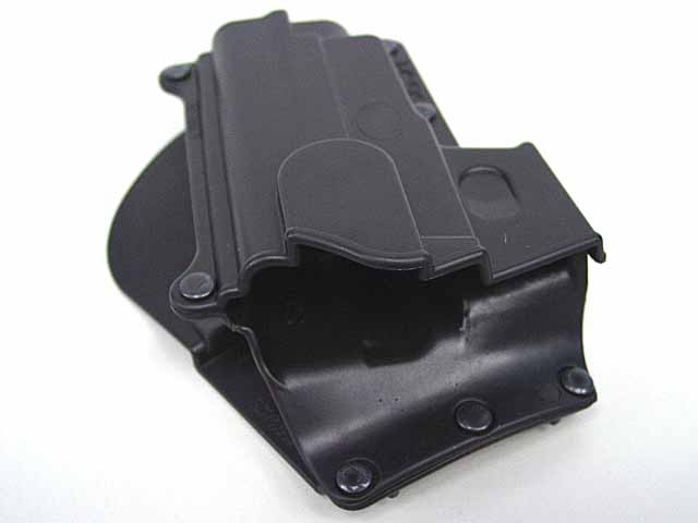 Tactical Right Hand Conceal Carry Polymer Paddle Holster for Sig/Sauer 220 226 228 245 225 Paddle Handcuff Black