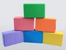 EVA Yoga Blocks Bricks Foaming Foam Home Exercise Fitness Health Gym Practice Tool 3″*6″*9″