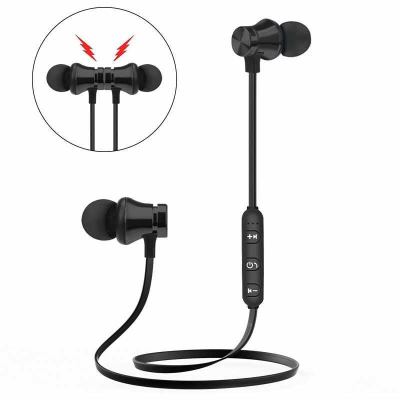 Bezprzewodowe słuchawki Bluetooth dla Huawei Honor 9 Lite 10 8 8X Max 8C 7C 7A 7X7 Prime 6C 6A 6X słuchawki sportowe słuchawki douszne słuchawki