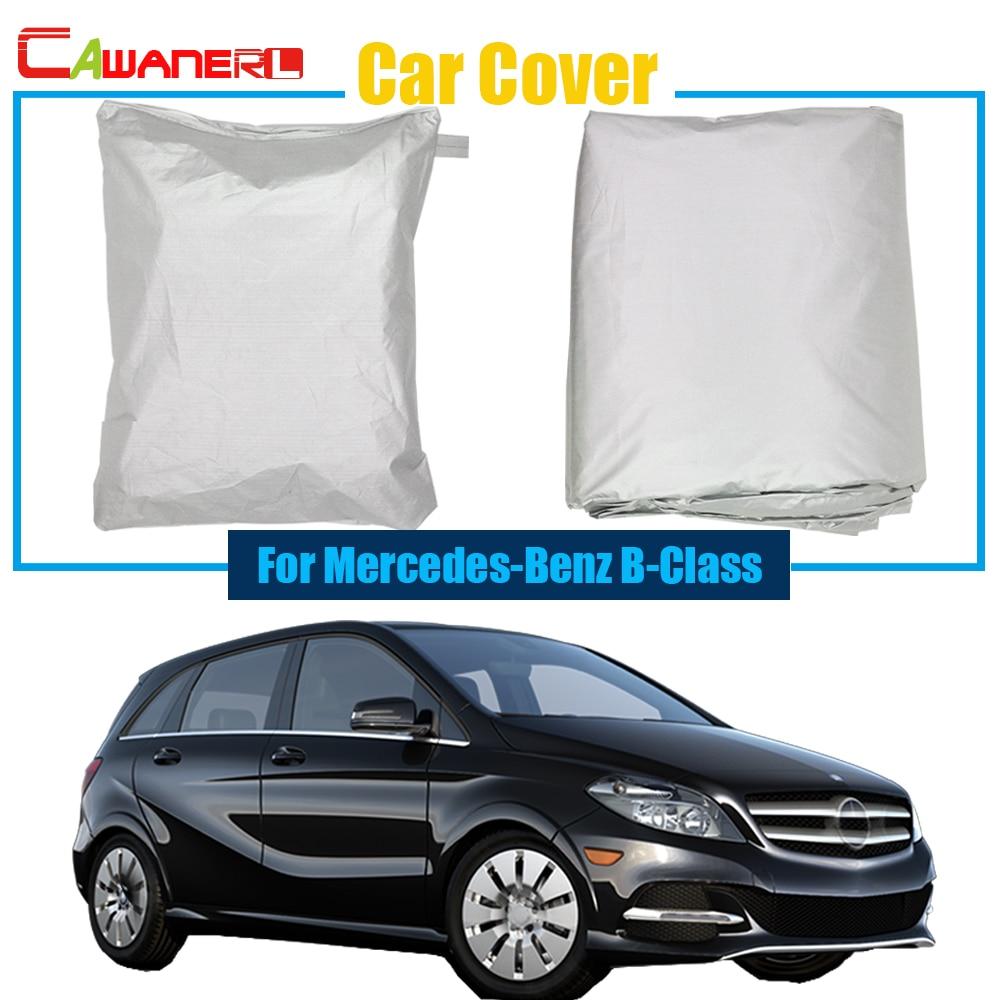Cawanerl Car Cover Auto Anti UV Chuva Neve Sol Protetor Resistente Tampa Do  Carro Sol Sombra Para Mercedes Benz Classe B