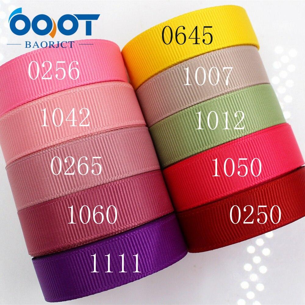 OOOT BAORJCT 1760612 мм 16 мм одноцветное цвет ленты термальность передачи печатных grosgrain Свадебные аксессуары DIY ручной работы материал