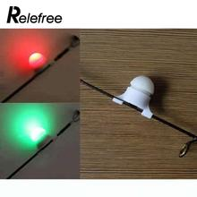 Fishing Alert Strike Bite Alarm  Night LED Rod Tip Clip on Fish Light Electronic Accessories with Adapt