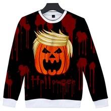 LUCKYFRIDAYF Kpop 3D Halloween Sweatshirt Capless Women/Men Fashion Skull Print K-pop Funny Hoodies Clothes Plus Size 4XL