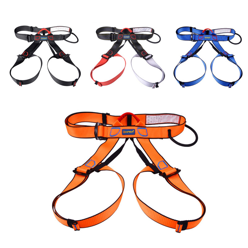 Outdoor Rock Climbing Rappelling Tool Harness Seat Belts Sitting Safety With Bag  3