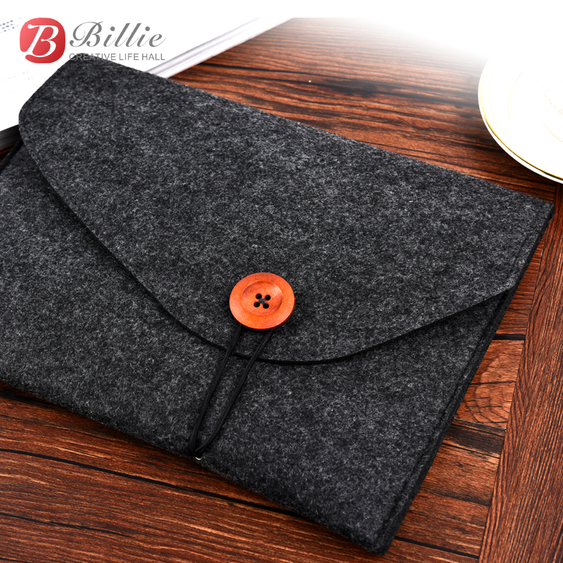 "Dutiful Newest Tablet Pc Bag Laptop Sleeve For Ipad Air 9.7"", Pro 9.7 Inch High Quality Wool Felt Computer Notebook Cover Free Shipping"