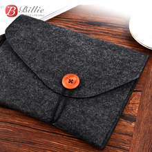 Newest Tablet PC Bag Laptop Sleeve For iPad Air 9.7, Pro 9.7 inch high quality Wool Felt Computer Notebook Cover Free Shipping