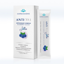 ANTI-OXIDANT BLUEBERRY JELLY / JELLO Provide Double Anti-aging Effect Promote the Synthesis of VC Make the Skin More Delicate