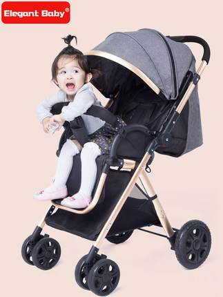 K14 New Children's Tricycle Scooter 1-3-5-2-6 Year Old Baby Stroller Light Baby Trolley  Bicycle For Boys And Girls