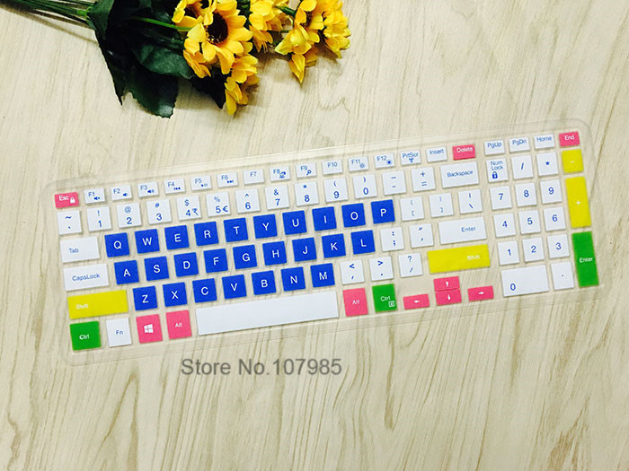 for Dell Inspiron 15 5577 3567 3565 3568 5000 5576 3580 7000 7559 5565 15.6 Inch Keyboard Cover Laptop Keyboard Protector Skin