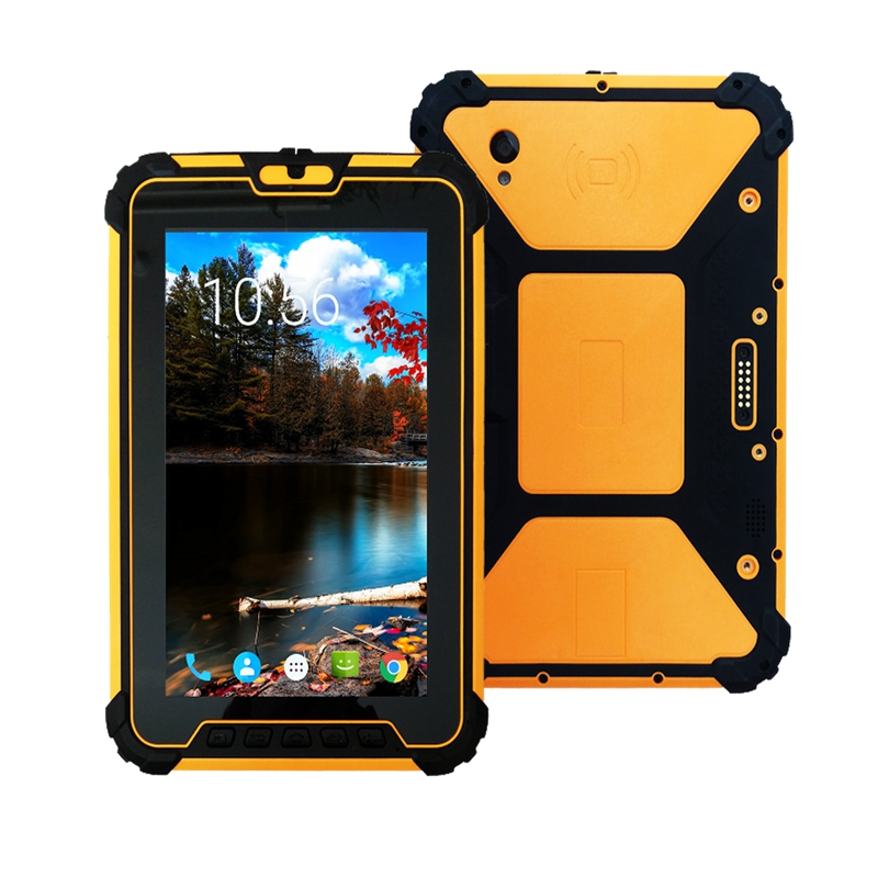 8 inch Android 7.1 Rugged Tablet PC with 8core CPU RAM 4GB ROM 64GB 400 NITS brightness H1920 V1200 resolution Free Shipping-in Industrial Computer & Accessories from Computer & Office